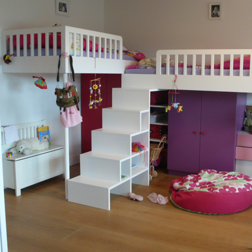 schaden lebensr ume kinderzimmer f r zwillingsm dchen. Black Bedroom Furniture Sets. Home Design Ideas